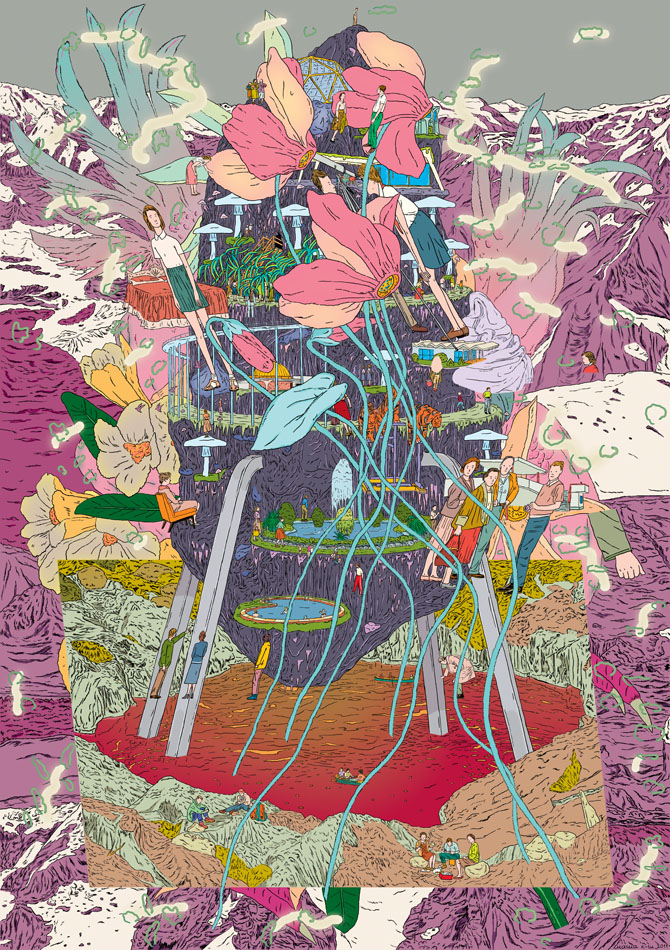 The Silent Earth, 2011, 59 x 84 cm poster.